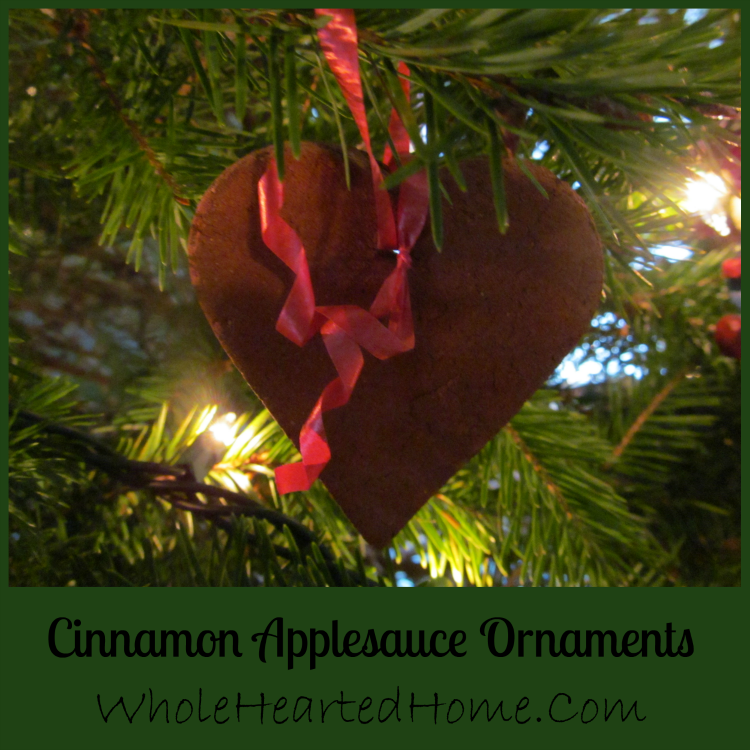 The Best Cinnamon Applesauce Ornaments