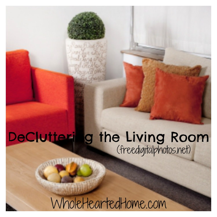 DeCluttering the Living Room So Your Family Can Breathe