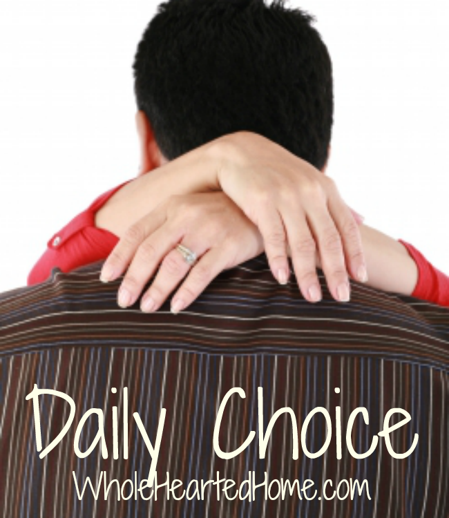 Daily Choice {Busy Moms}