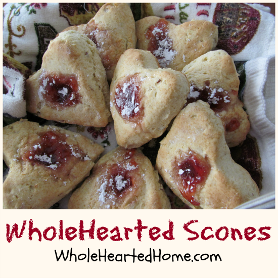 WholeHearted Scones + WholeHearted Wednesdays #81 {a linkup party}