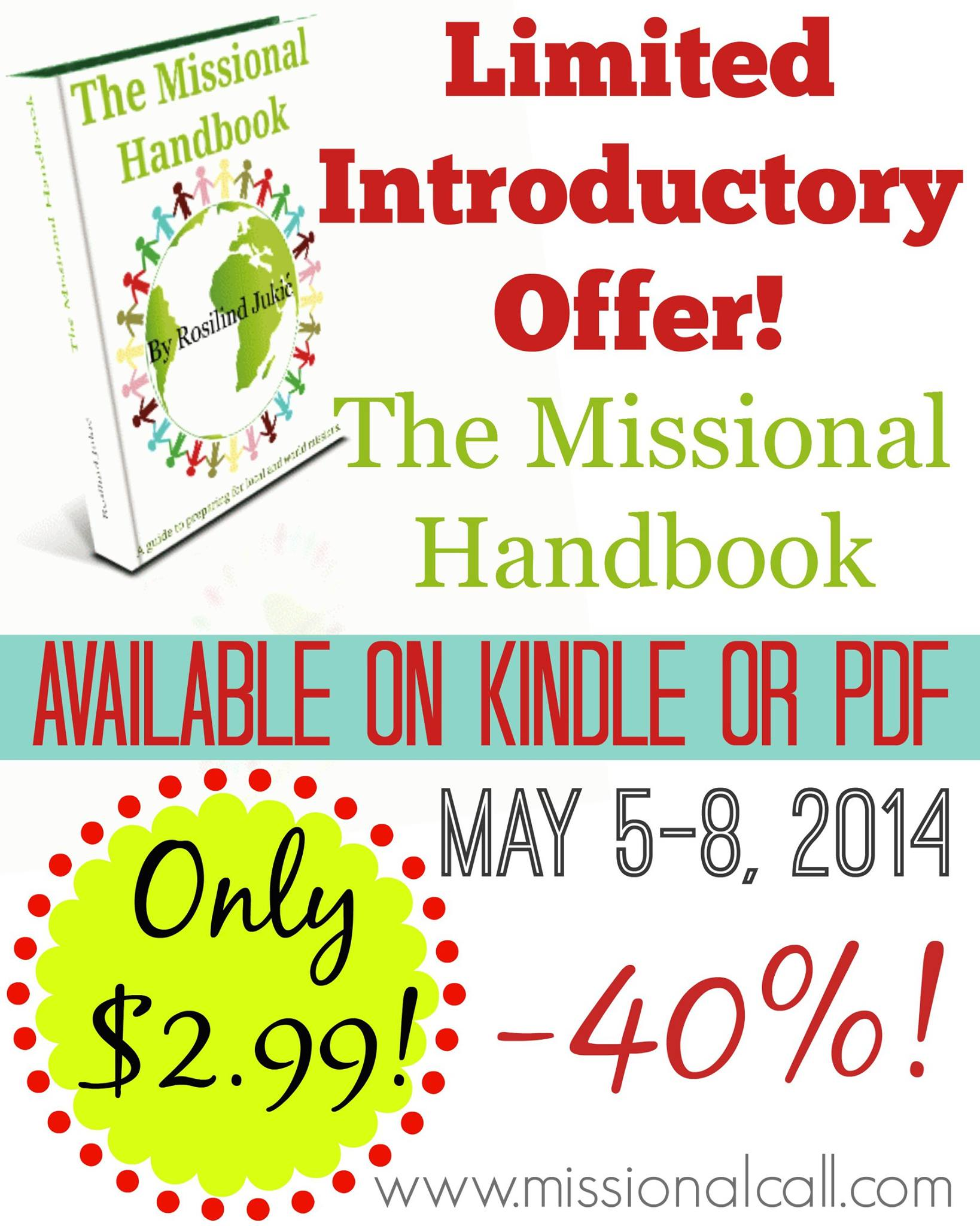 The Missional Handbook Review + GIVEAWAY + WholeHearted Wednesday #90