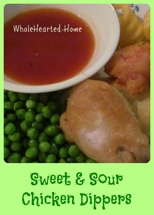 Sweet and Sour Chicken Dippers