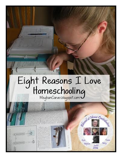 Eight Reasons I Love Homeschooling {Blessed At Home}