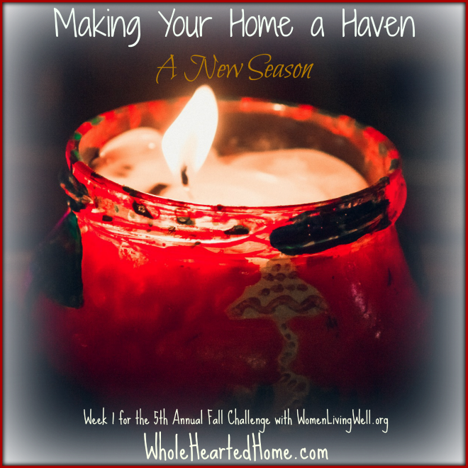 Making Your Home a Haven: A New Season