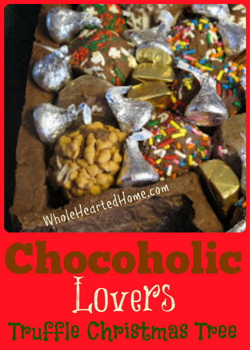 Chocoholic Lovers Truffle Christmas Tree