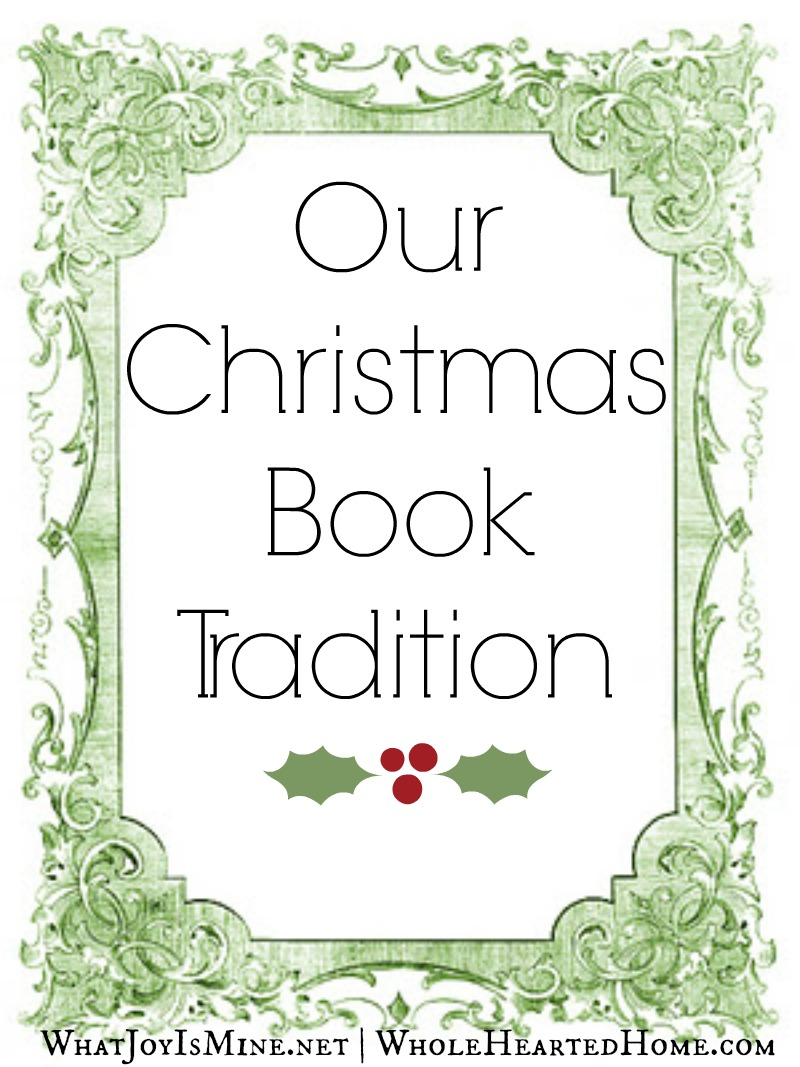 Our Christmas Book Tradition