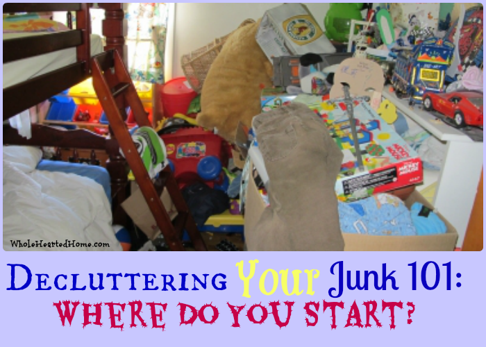 Decluttering Your Junk 101: Where Do You Start?