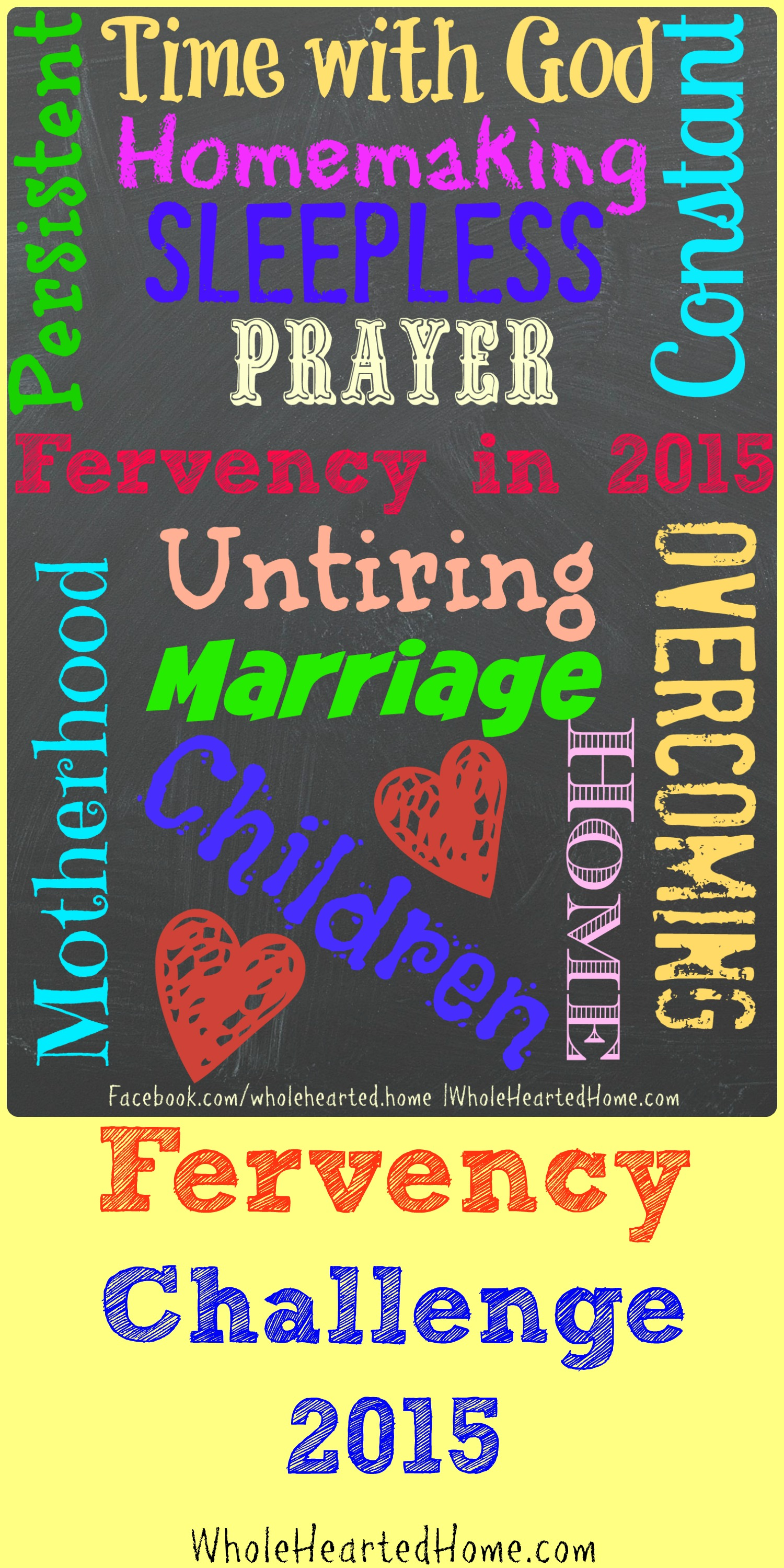 Fervency in 2015: One Word Plus Four More