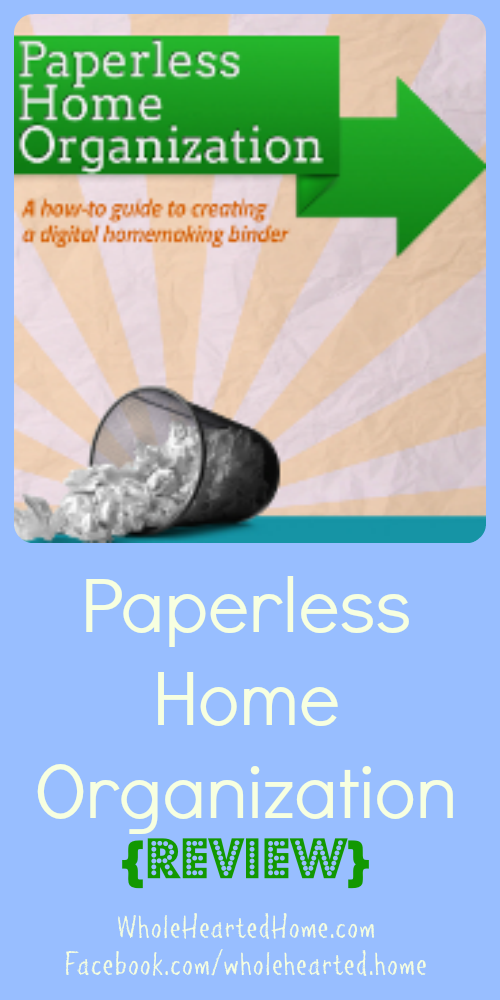 Paperless Home Organization {Review}