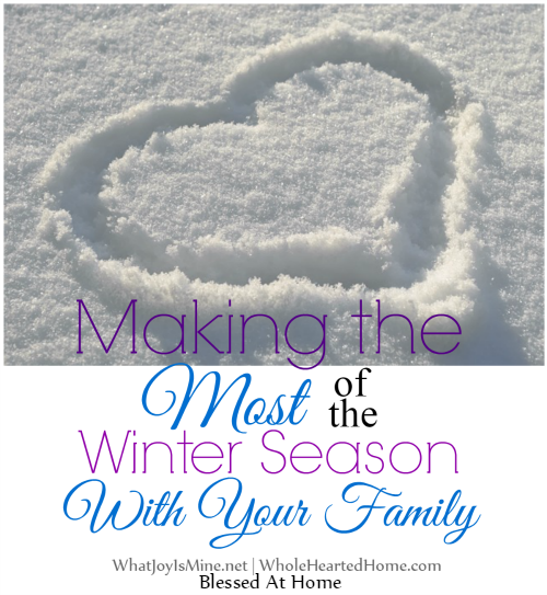 Making the Most of the Winter Season With Your Family
