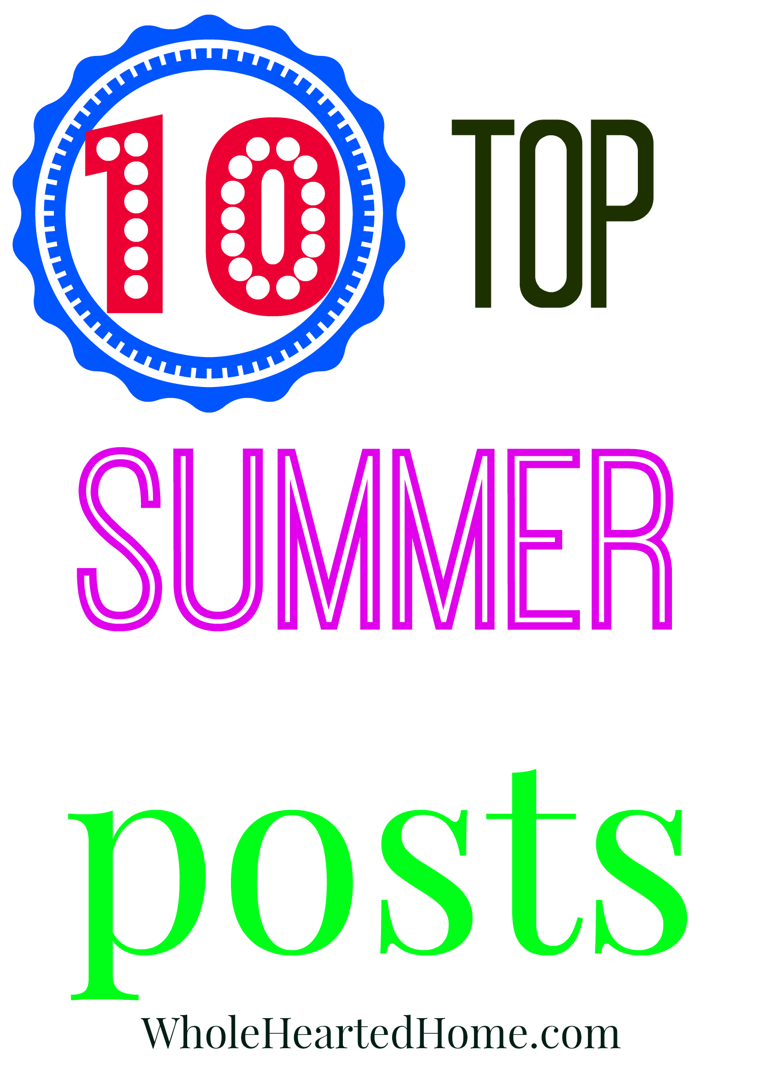 10 Top Summer Posts