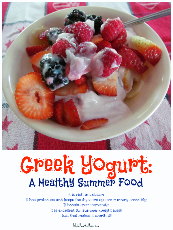 Greek-Yogurt-A-Healthy-Summer-Food-WholeHearted-Home