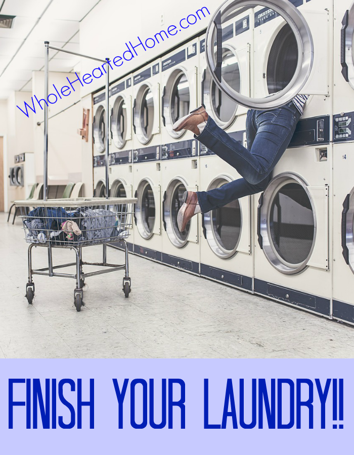 Finish Your Laundry