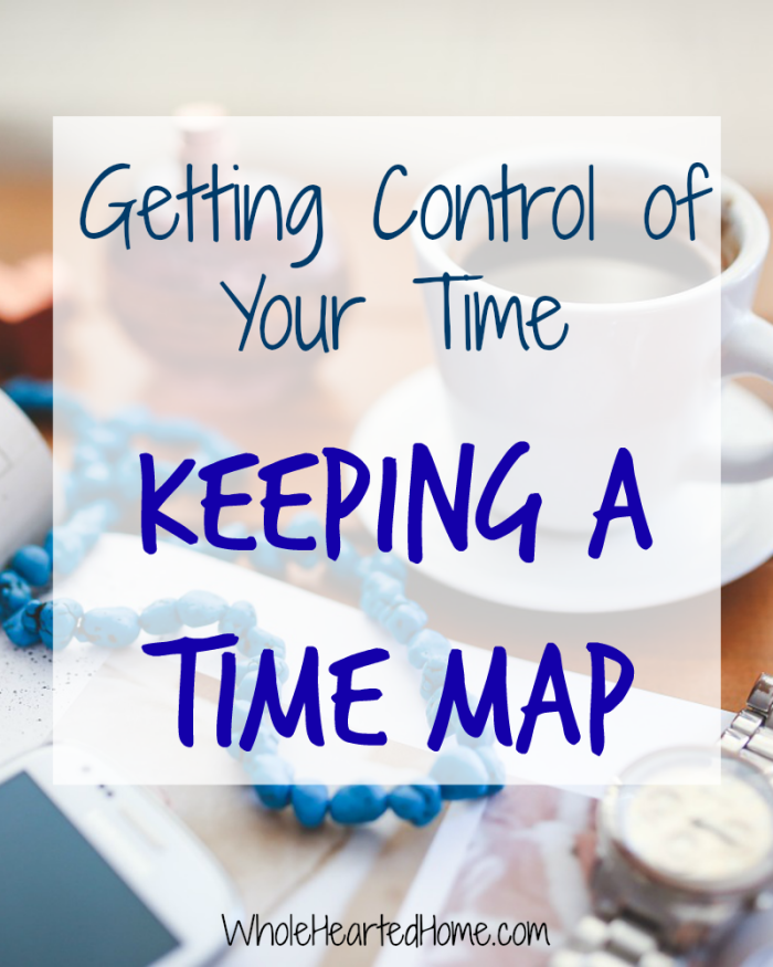 Getting Control of Your Time - Keeping a Time Map 2