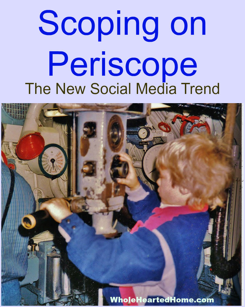 Scoping on Periscope: The New Social Media Trend + WholeHearted Wednesday #155