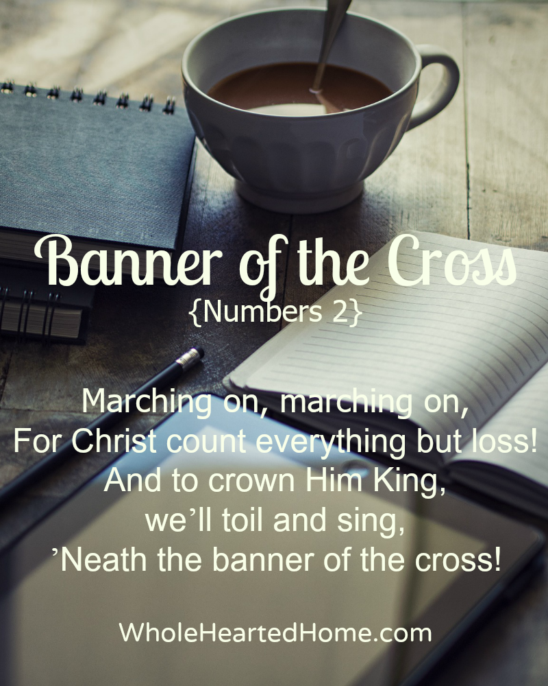 Banner of the Cross {Numbers 2}