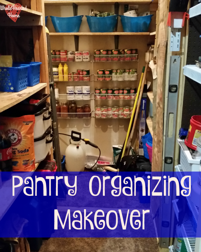 Pantry Organizing Makeover 2