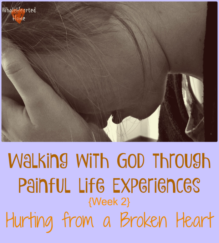 Walking with God Through Painful Life Experiences { Week 2}