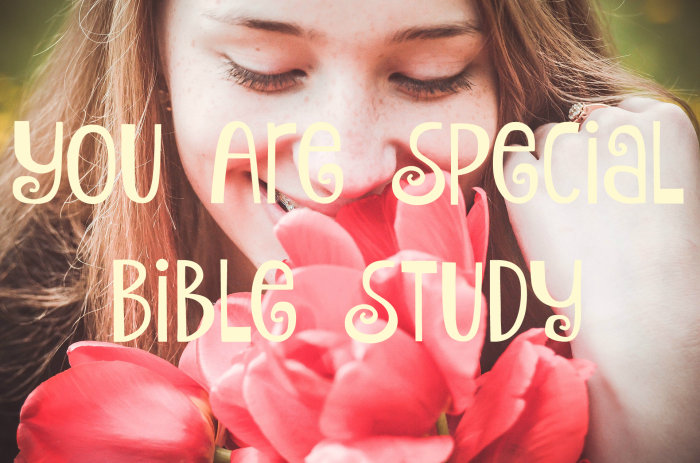You Are Special Bible Study (Button)