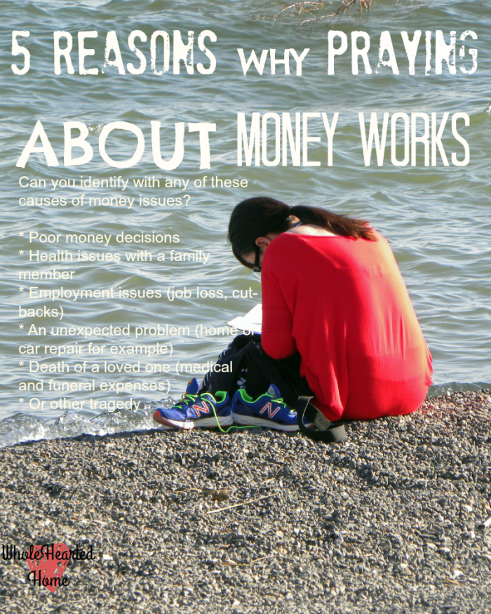 5 Reasons Why Praying About Money Works