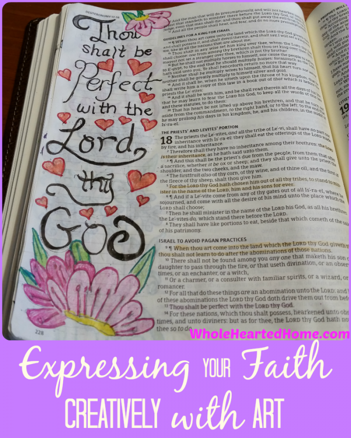 Expressing Your Faith Creatively with Art