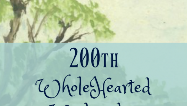 200th WholeHearted Wednesday Linkup Party!! + GIVEAWAY