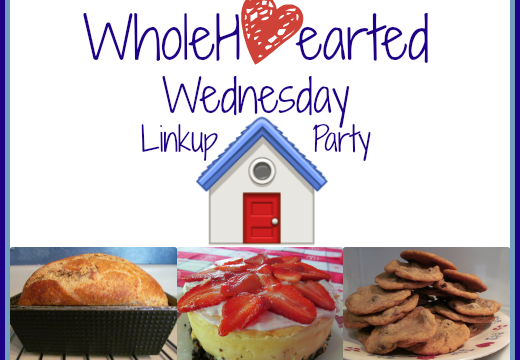 Giveaway Winner + WholeHearted Wednesday #202