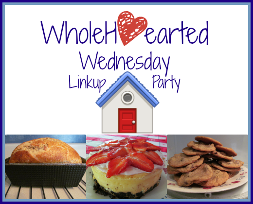 WholeHearted Wednesday Linkup Banner