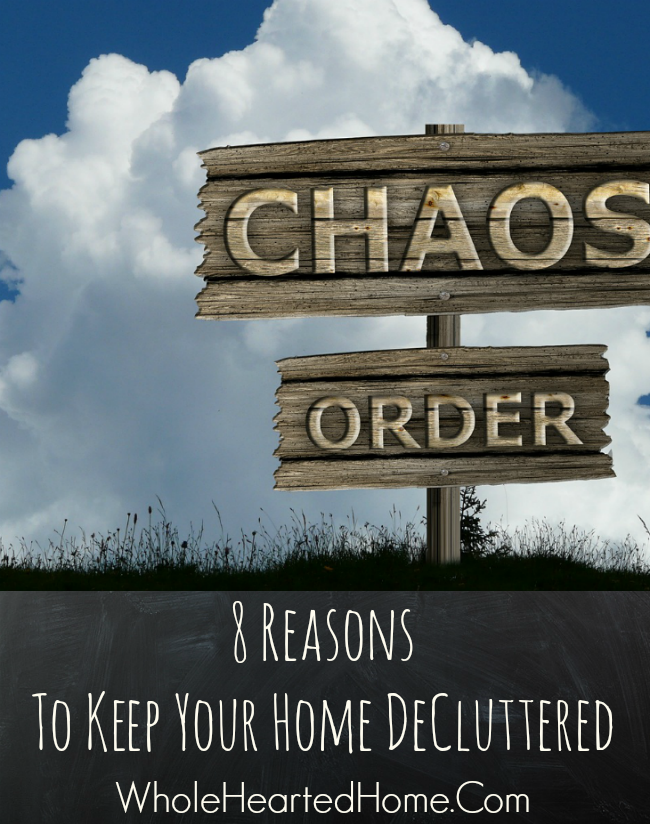 8 Reasons To Keep Your Home DeCluttered