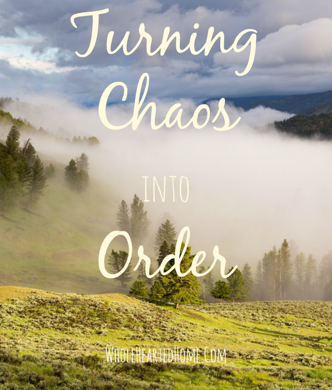 Turning Chaos into Order