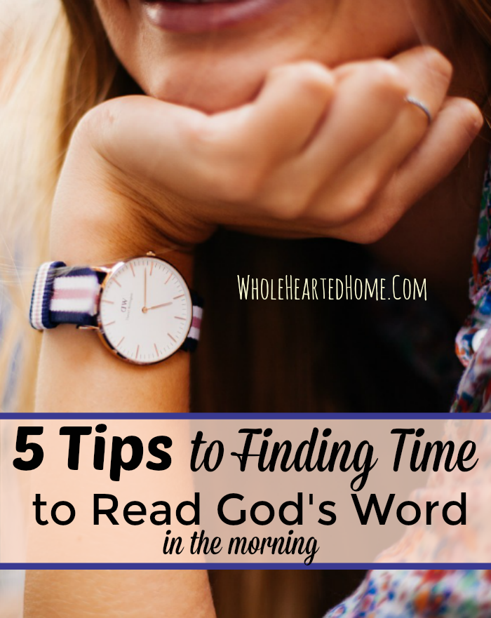 5-tips-to-finding-time-to-read-gods-word-in-the-morning