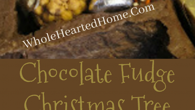 Chocolate Fudge Christmas Tree with Truffles that You Have Got to Make!