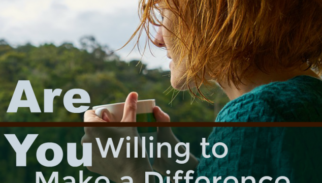 Are You Willing to Make a Difference in a Younger Woman's Life?