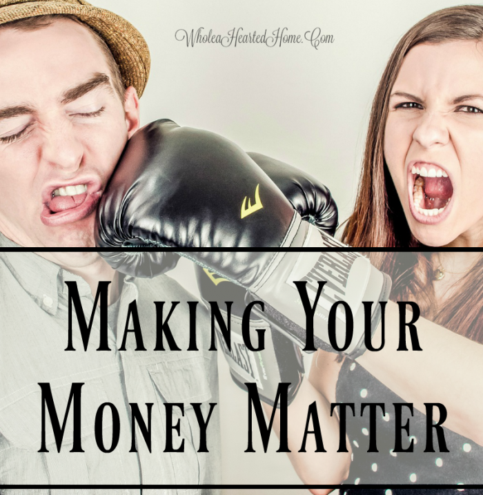 Making Money Matter