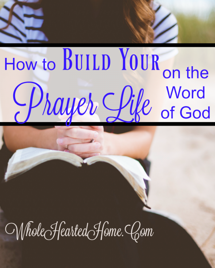 Build Your Prayer Life